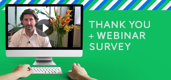 Thank You & WebRater Survey